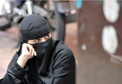 Girl in Burqa